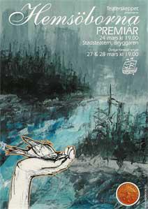 Einars affisch för Hemsöborna.
