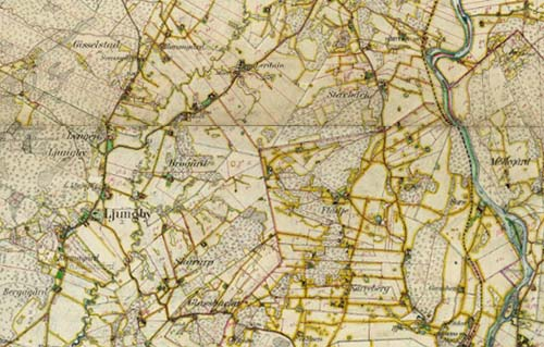 Ljungbykarta 1919