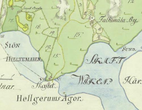 Skafte backe 1787