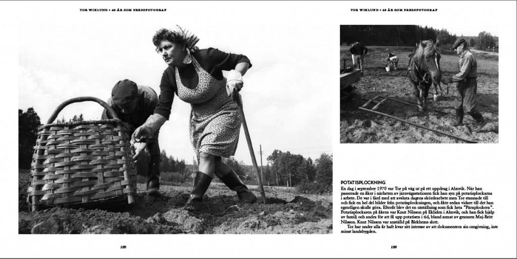 Tor Wiklund - 49 år som pressfotograf