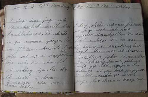 dagbok 1964