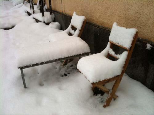 snöig påsk