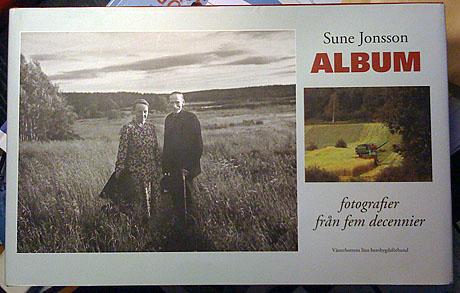 """Sune Jonssons samlingsbok """"Album"""""""