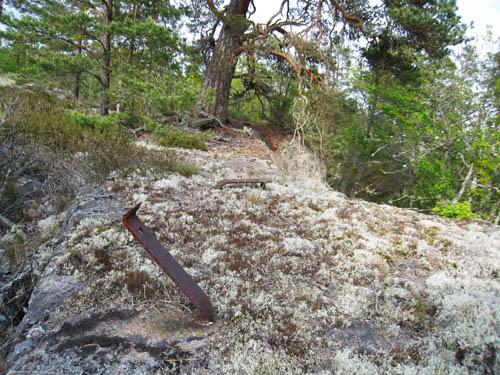 Kanske är detta resterna efter baron Raabs utsiktstorn på Tornkullen på 1800-talet.