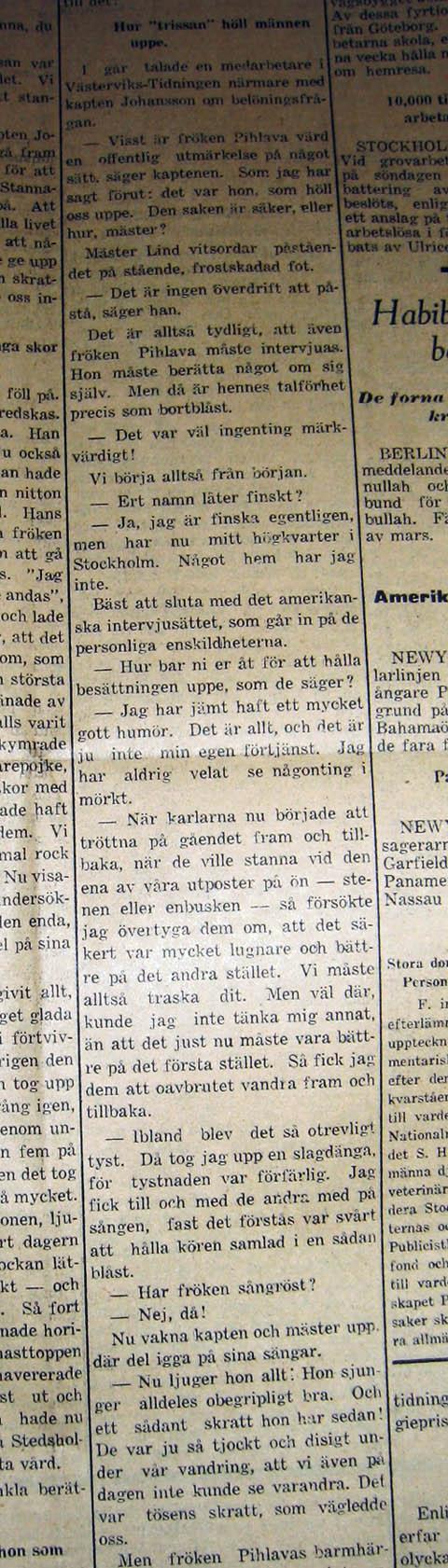 Västerviks-Tidningen den 21 januari 1929